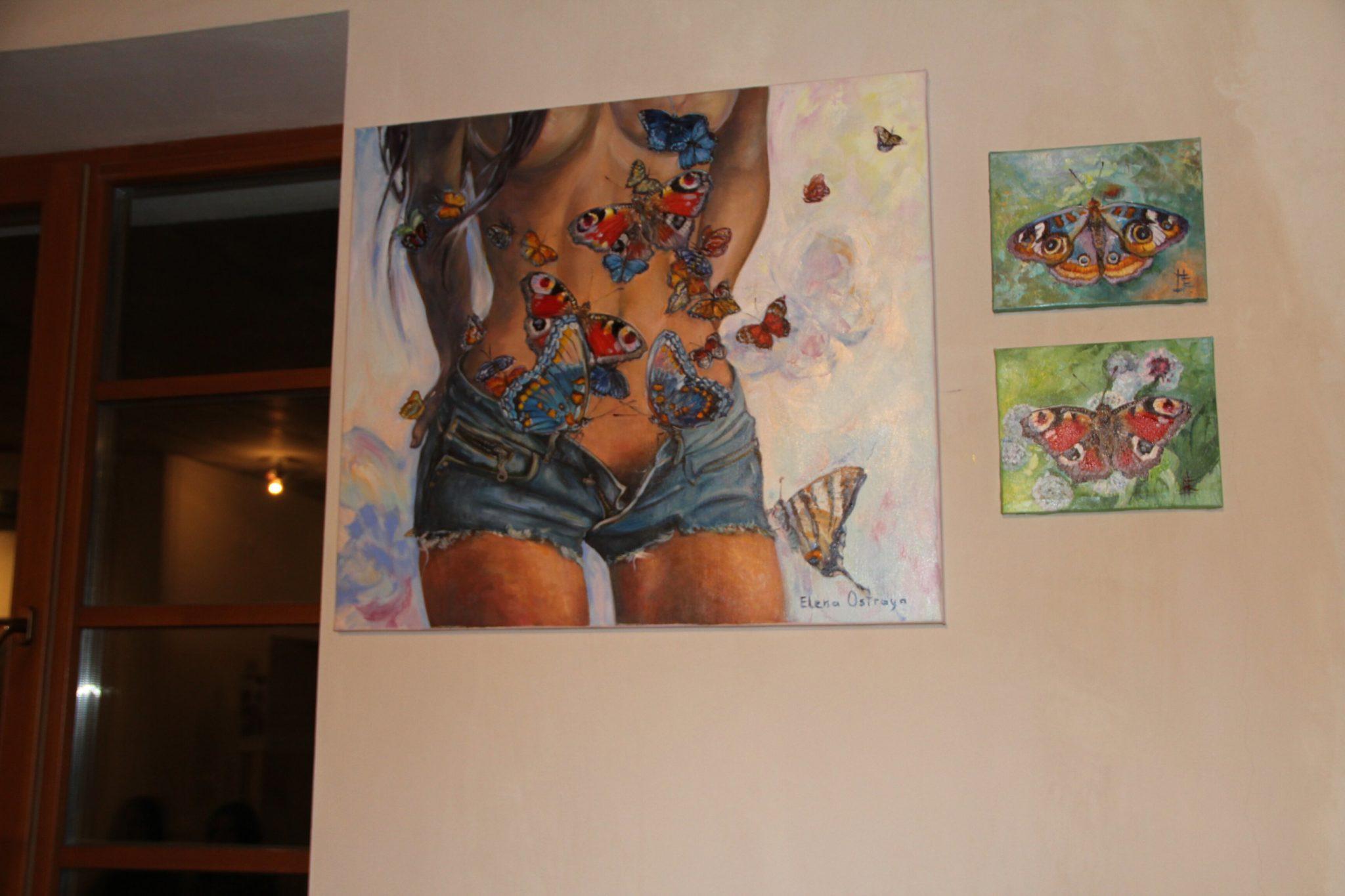 8 марта в арт-галерее городского коттеджного поселка «Примавера» состоялось открытие выставки «Тело: стыд и экстаз».